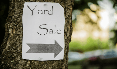 Set Up a Yard Sale